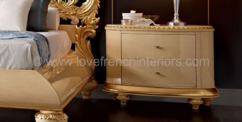 Venezia 2 Drawer Chest or Bedside